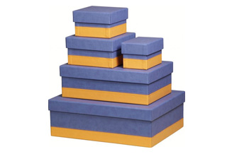 SET OF 5 NESTED BOXES