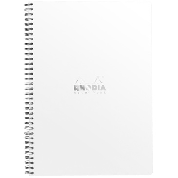 Notebook RI Rhodia A4+ L+MC 160p détach. 80g