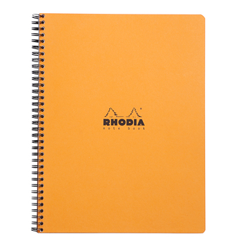 Notebook RI Rhodia A4+ L+MC perf. 4 trous160p détach. 80g